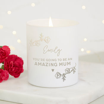 Baby Shower Gift Mummy To Be Candle