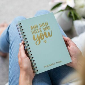 Personalised 'And Then There Was You' Foil Notebook