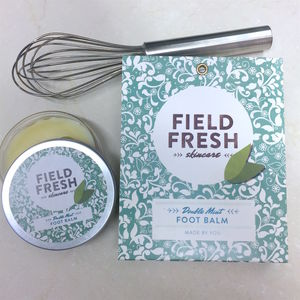 'Make Your Own Kit' Double Mint Foot Balm - whatsnew