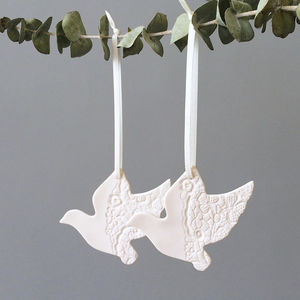 Keepsake Ceramic Love Birds