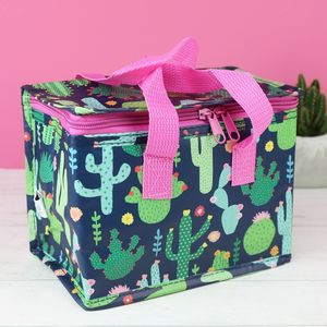 Colourful Cactus Lunch Bag - new in garden