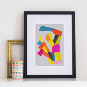 Zenith Abstract Print