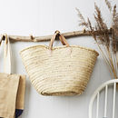 French Straw Basket