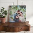 Personalised Cherished Photo Wooden Clock