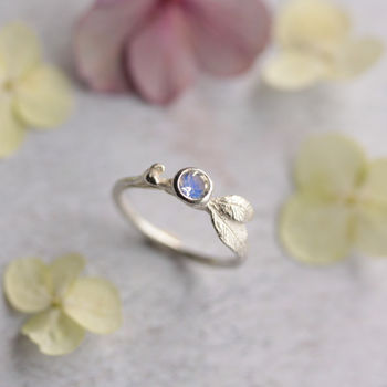 Moonstone Forest Berry Ring
