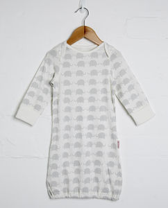 Unisex Elephant Print Sleepgown - summer sale