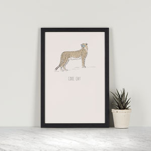 Cool Cat – Cheetah - posters & prints