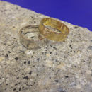 Textured Fairtrade Gold Wedding Ring 6mm