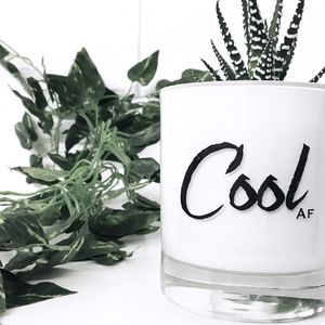'Cool' Soy Wax Candle
