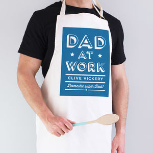Dad At Work Apron