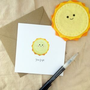 Shine Bright Greeting Card