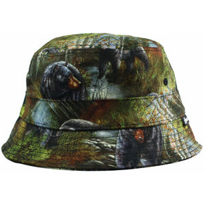 Black Bear Bucket Hat - womens