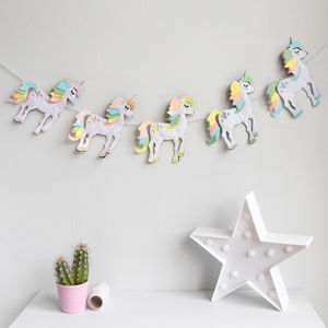 Unicorn Garland - unicorns