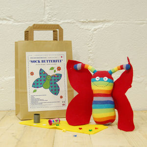 Sock Butterfly Craft Kit