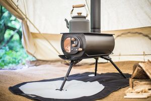 The Frontier Plus: A Portable Woodburning Stove - new in garden