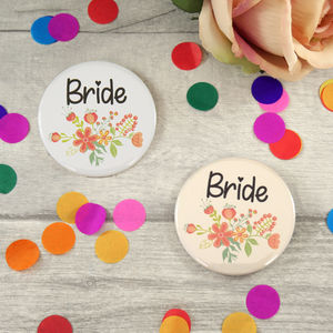 Bride Hen Night Badge