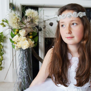 Sophia Flowergirl Headband - hair accessories