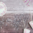 Clear Crystal Table Scatter Decorations
