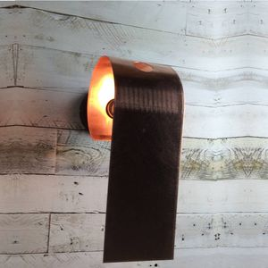 Porlock Hand Rolled Copper Wall Light
