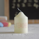 'Special Teacher' Candle In Organza Bag