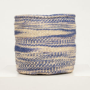 French Lavender Woven Storage Baskets