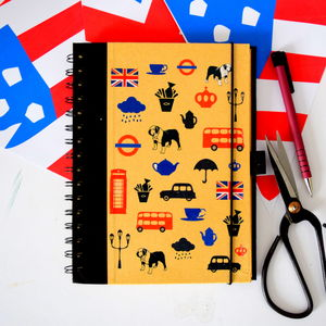 Best Of British Icons Notebook