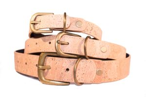 Luxurious Champagne Cork Pet Collars - dogs