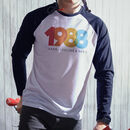 Personalised Retro Style Year Long Sleeved Tee