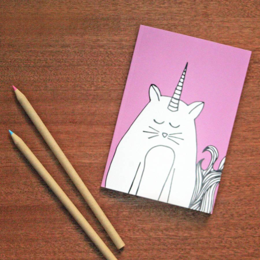 Alphabet Unicorn Notebook Set By Neon Magpie