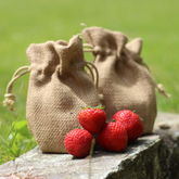 Strawberries Jute Grow Set - garden