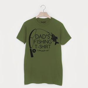 Dad's Fishing T Shirt - Mens T-shirts & vests