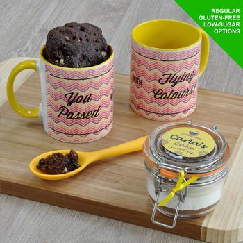 Congratulations Personalised Cake In A Cup Kit