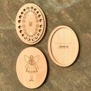 Personalised Wooden Tooth Box