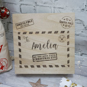Large Personalised Christmas Eve Box - christmas eve boxes
