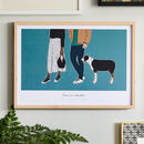 'Love Is An Adventure' Couples Print, Unframed