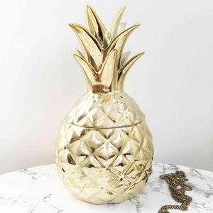 Pineapple Jewellery Box