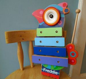 Wooden Bird Xylophone - traditional toys & games
