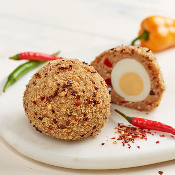 16 Gourmet Scotch Eggs