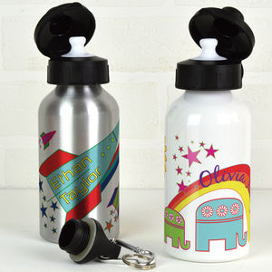 Personalised Water Bottle - tins, jars & bottles