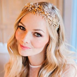 Gold Swarovski Crystal Crown