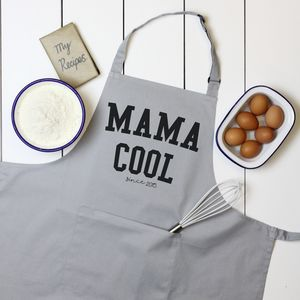 Personalised 'Mama Cool' Apron - aprons