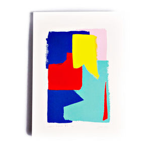 Colour Block Multicolour Limited Edition Screen Print