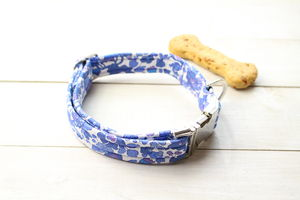 Mabel Liberty Fabric Dog Collar - pet collars
