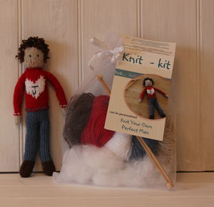 Knit Your Own Boyfriend - gifts for friends
