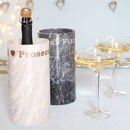 Prosecco Marble Cooler