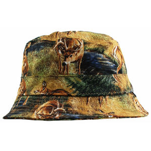Agora Deer Bucket Hat - womens