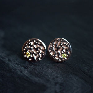 Io Rose Gold Earrings - earrings
