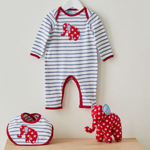 Eli Babygrow, Bib And Soft Toy Baby Gift Set - our top picks