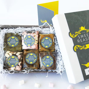 Luxury Vegan Brownie Gift Box