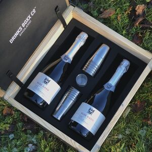 12 Person Portable Prosecco Mini Bar Box